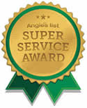 Angie's List Super Service Award Residential Electrical Repair Greenville SC