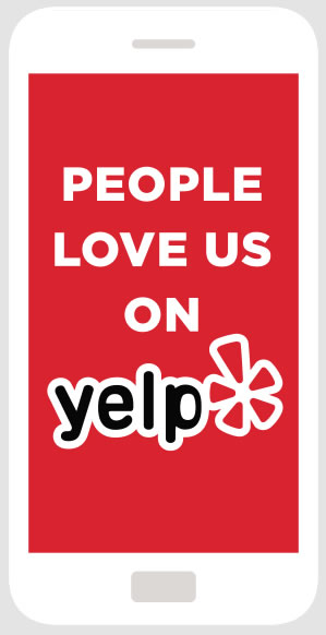 See what our customers are saying about us on Yelp